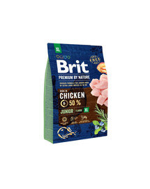 BRIT Premium By Nature Junior Extra Large XL 3 kg