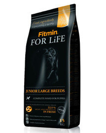FITMIN Dog for life junior large breed 15 kg