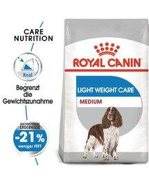 3kg ROYAL CANIN MEDIUM Light Weight Care Trockenfutter für übergewichtige mittelgroße Hunde 3 kg