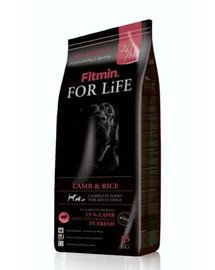 FITMIN Dog For Life Lamb & Rice15 kg