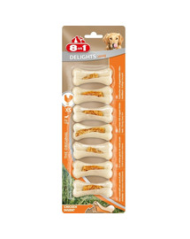 8in1 Delights Kauknochen Strong XS 7 Pack