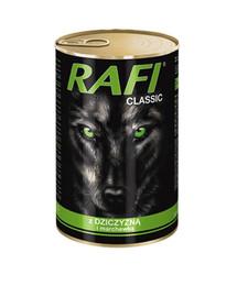 DOLINA NOTECI Rafi Classic mit Wildbret und Karotte in Sauce 1240g