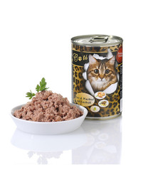 O'CANIS for Cats Pute, Wachtel und Lachsöl 400 g
