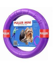 PULLER Mini Dog Fitness Spielring für kleine Hunde, Doppelpack, 18 cm