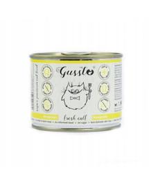 GUSSTO Cat Fresh Calf frisches Kalb 200 g