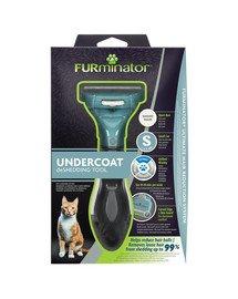 FURMINATOR deShedding-Fellpflegewerkzeug für kurzhaarige kleine Katzen