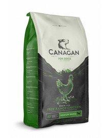 CANAGAN Dog Free-Range Chicken Trockenfutter für Hunde Huhn mit freiem Auslauf 6 kg