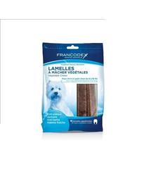 FRANCODEX pflanzliche Kaustreifen Kausnacks 224g für Hunde 5 - 10 kg
