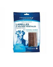 FRANCODEX pflanzliche Kaustreifen Kausnacks 490g für Hunde mehr als 30 kg