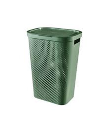CURVER INFINITY Wäschekorb 60L 100% Recycling Eko grün