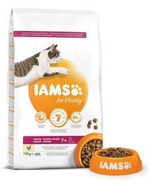 IAMS Cat Senior All Breeds Chicken 10 kg