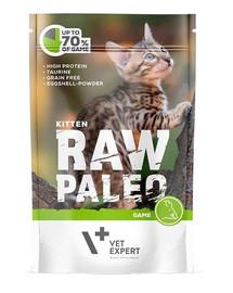 VETEXPERT Katzen-Nassfutter Raw Paleo Kitten Wild 100G
