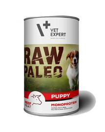 VETEXPERT Hundenassfutter – Raw Paleo Puppy Rind 400g