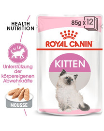ROYAL CANIN Kitten Wet - Mousse 12x85g