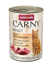 ANIMONDA Carny Adult Pute und Hühnchenleber 400 g