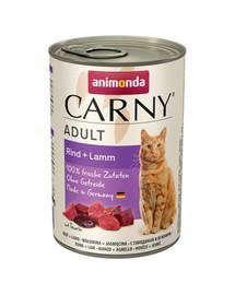 ANIMONDA Carny Rind und Lamm 400g
