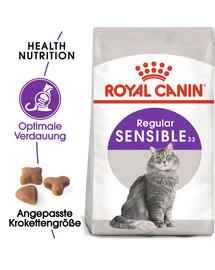ROYAL CANIN SENSIBLE Trockenfutter für sensible Katzen 10 kg