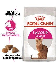 ROYAL CANIN SAVOUR EXIGENT Trockenfutter für wählerische Katzen 10 kg