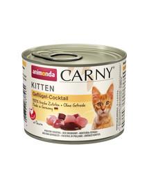 ANIMONDA Carny Kitten GEFLÜGEL-COCKTAIL 200 g