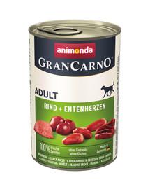 ANIMONDA GranCarno Original Adult RIND + ENTENHERZEN 400 g