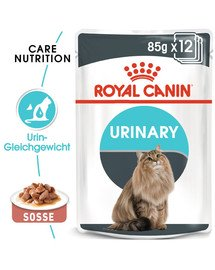 ROYAL CANIN Urinary Care Katzenfutter nass für gesunde Harnwege 12x85g