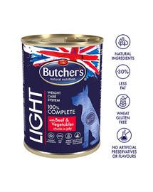 BUTCHER'S Dog Functional Light Rind und Gemüsestücke in Gelee 400 g