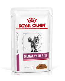 ROYAL CANIN Renal Feline Beef 85 g x 12