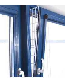TRIXIE Schutzgitter für Fenster  62 × 16/7 cm