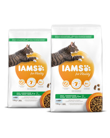 IAMS for Vitality Katzenfutter mit Seefisch 20 kg (2 x 10 kg)