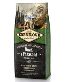 CARNILOVE Duck & Pheasant 24kg ( 2 x 12 kg )