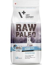 VETEXPERT Hundetrockenfutter – Raw Paleo Puppy Large 12kg