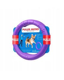 PULLER Micro Dog Fitness Spielring für micro - kleine Hunde, Doppelpack, 13 cm