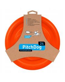 PULLER Pitch Dog Game Flying Disc 24 cm Orange