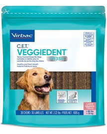 VIRBAC Veggiedent Fresh L (>30 kg) 15 St