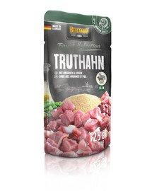 BELCANDO Finest Selection Truthahn mit Amaranth & Erbsen 125g