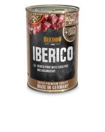 BELCANDO Iberico Schwein mit Kichererbsen und Preiselbeeren 400 g