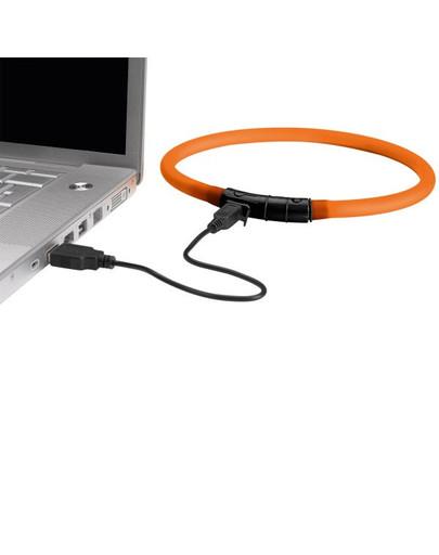 HUNTER LED Silikon Leuchtschlauch Yukon 20-70 cm orange
