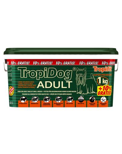 TROPIDOG Super Premium Adult S Lamb, Salmon & Rice 3l/1,1kg