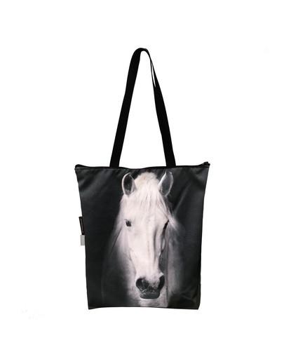 """FERA Klassische Einkaufstasche """"Weißes Pferd"""""""
