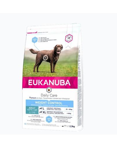 EUKANUBA Weight Control Adult Large Breeds Chicken 3 kg Trockenfutter für ausgewachsene Hunde großer Rassen