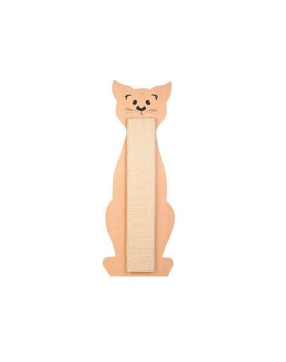 TRIXIE Kratzbrett Katze, Sisal/Holz 21 × 58 cm 5092