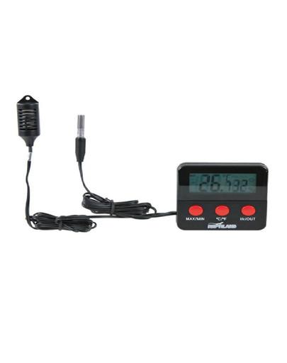 TRIXIE Digital-Thermo-/Hygrometer, fernfühlend für Terrarium 6966