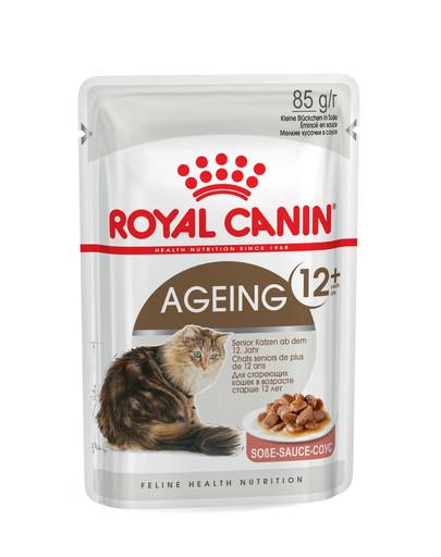 ROYAL CANIN AGEING 12+ in Soße Nassfutter für ältere Katzen 85 g
