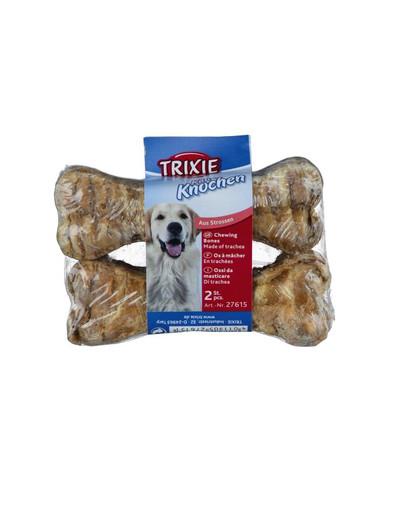 TRIXIE Kauknochen aus Rinderstrossen  10 cm 2 St.