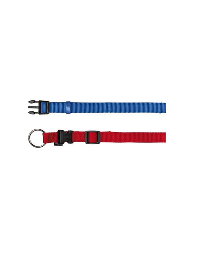 TRIXIE Halsband Nylon 30-45 cm / 15 mm himmelblau