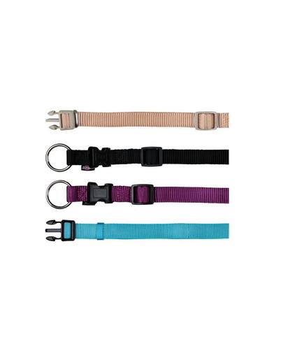 TRIXIE Halsband Nylon 40-65 cm / 25 mm schwarz