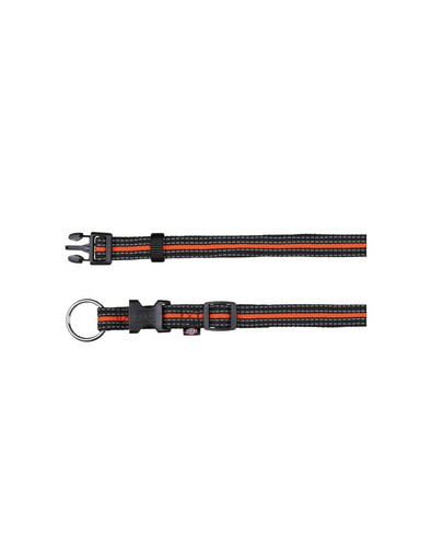 TRIXIE Fusion Halsband L-XL 40 – 65 cm / 25 mm orange