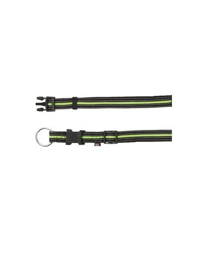 TRIXIE Fusion Halsband S-M  30–45 cm schwarz/grün