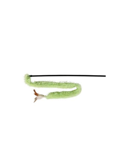 TRIXIE Spielangel mit Plüschband für Katze 48 cm
