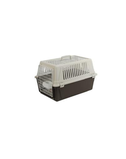 FERPLAST ATLAS 30 OPEN Transportboxen für Katzen und kleine Hunde mit aufklappbarem Dach 60 x 40 x 38 cm